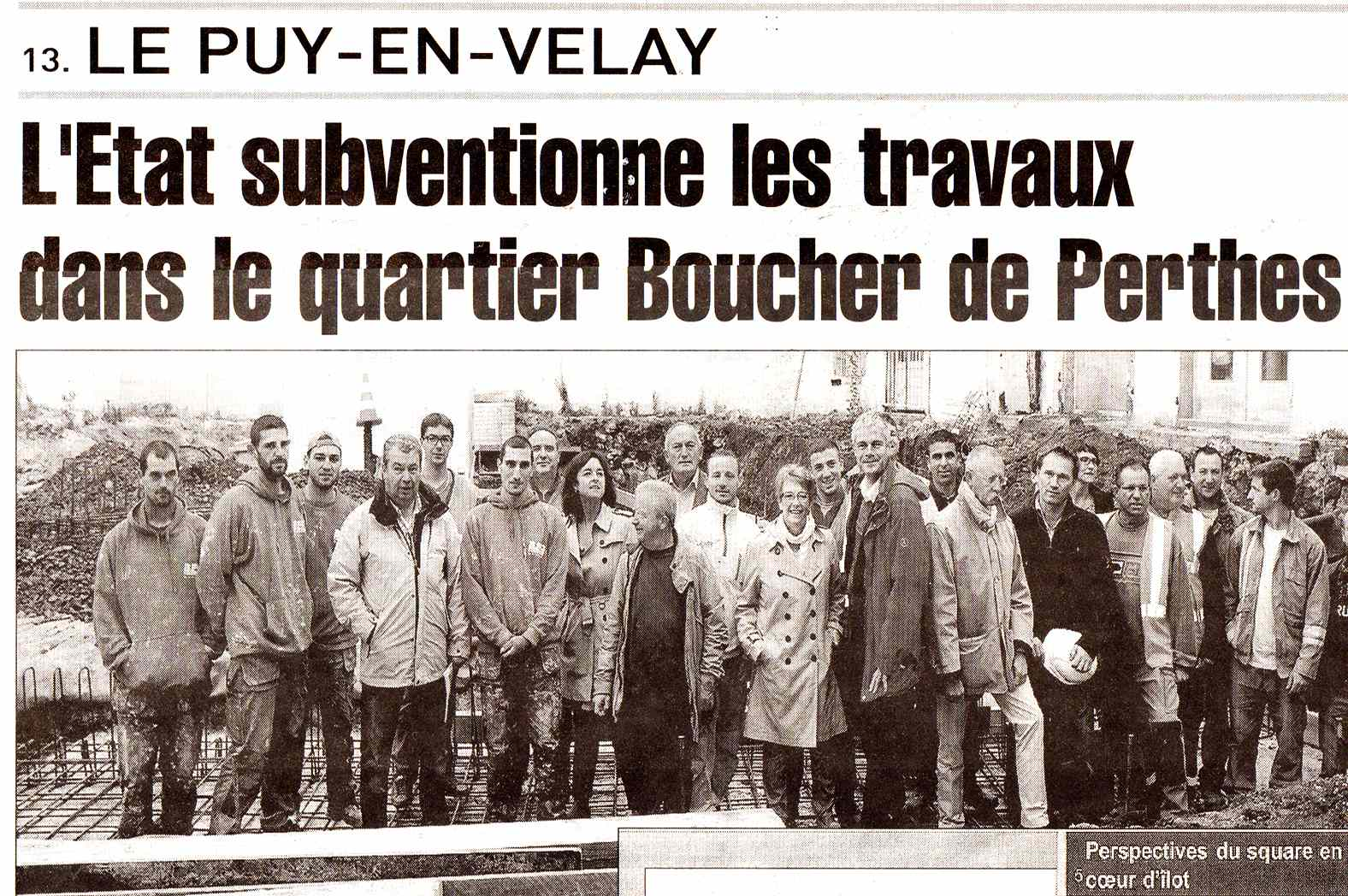 Subvention des travaux dans le quartier Boucher de Perthes