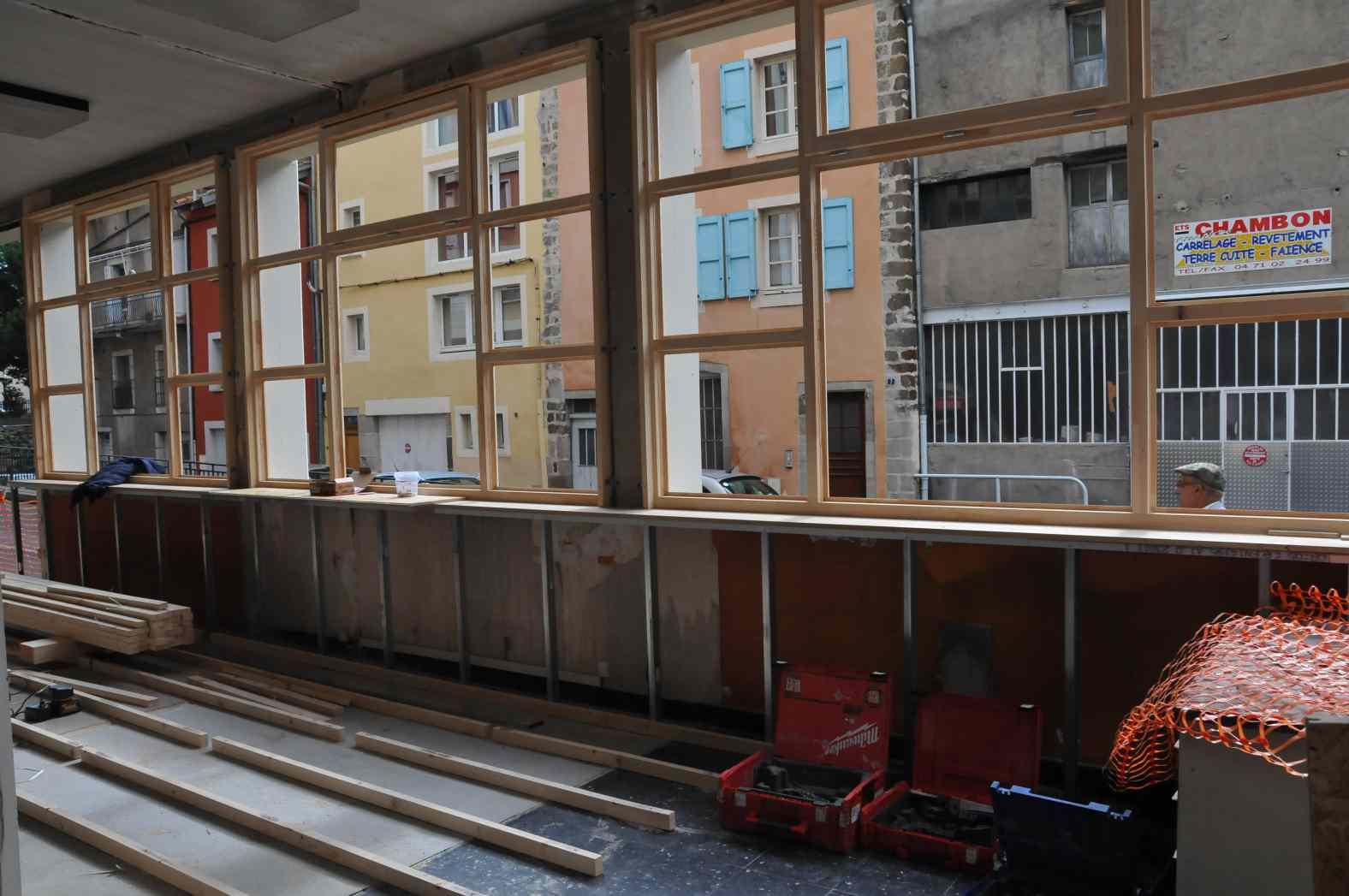 Rénovation des bureaux 7 rue Burel - Le Puy-en-Velay