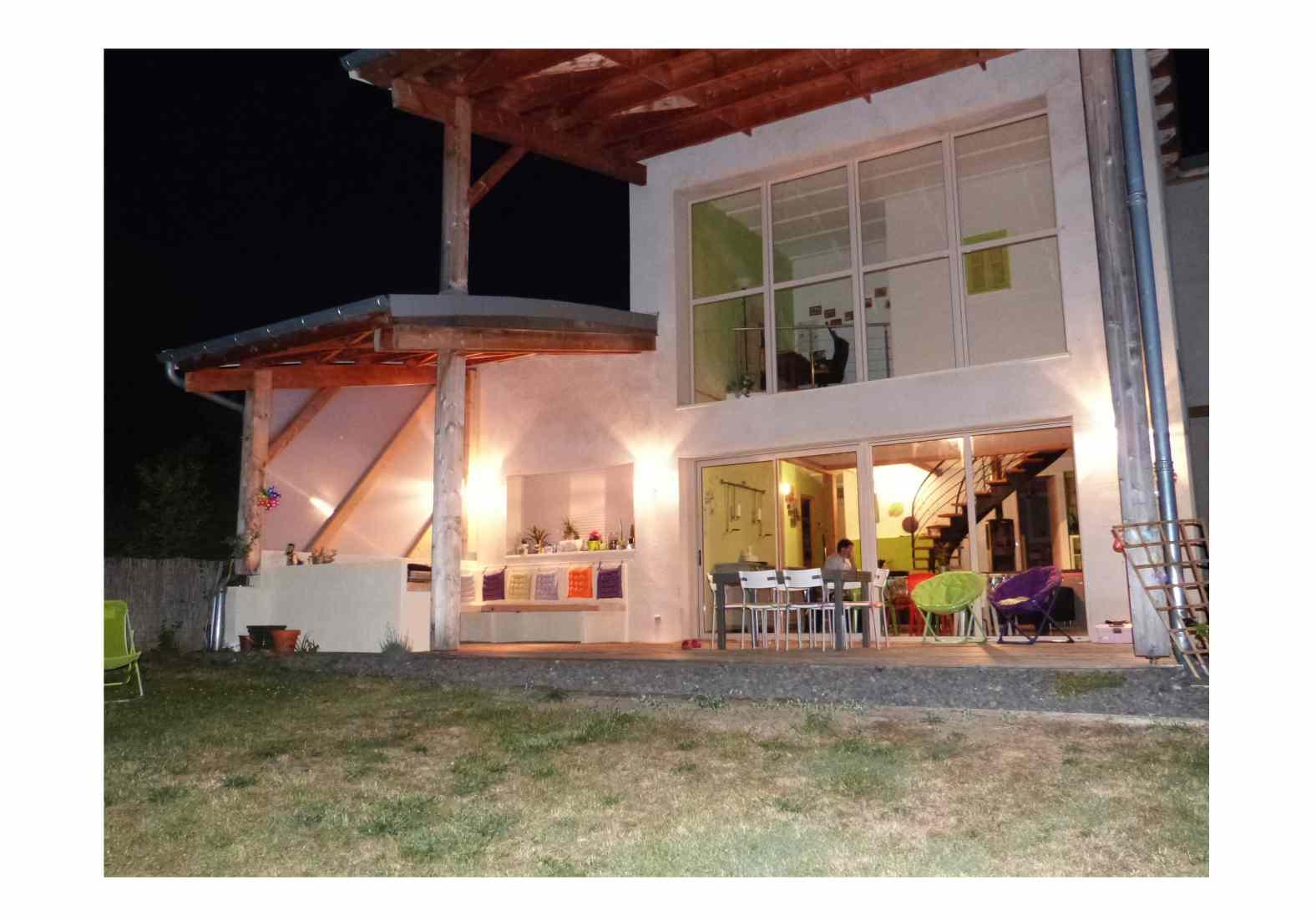 Maison en béton de chanvre à Langeac