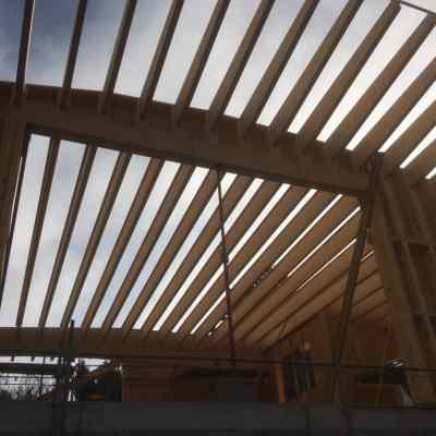 Construction d'une maison à ossature bois